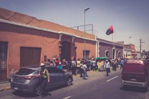 Groundhopping in Peru: Melgar Geschäftsstelle, Arequipa, Peru