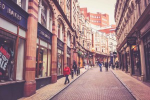 Einkaufsstraße Birmingham