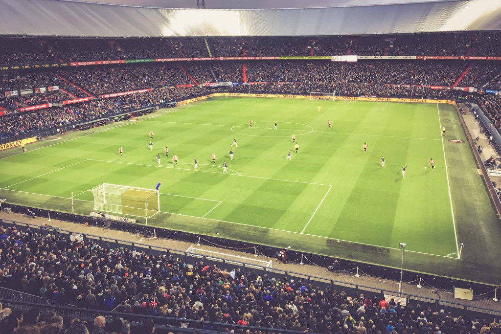 De Kuip, Rotterdam, Feyenoord - FC Groningen