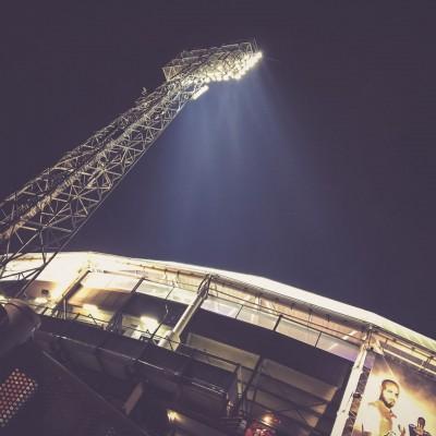 De Kuip, Rotterdam - Flutlicht