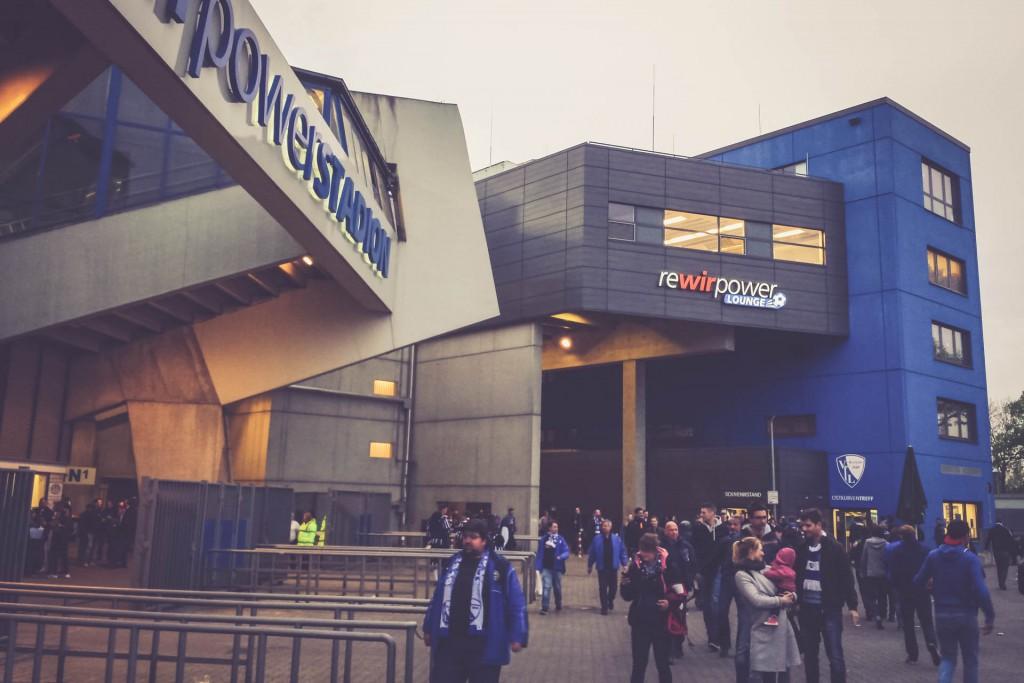 Rewirpowerstadion, Bochum - Eingang