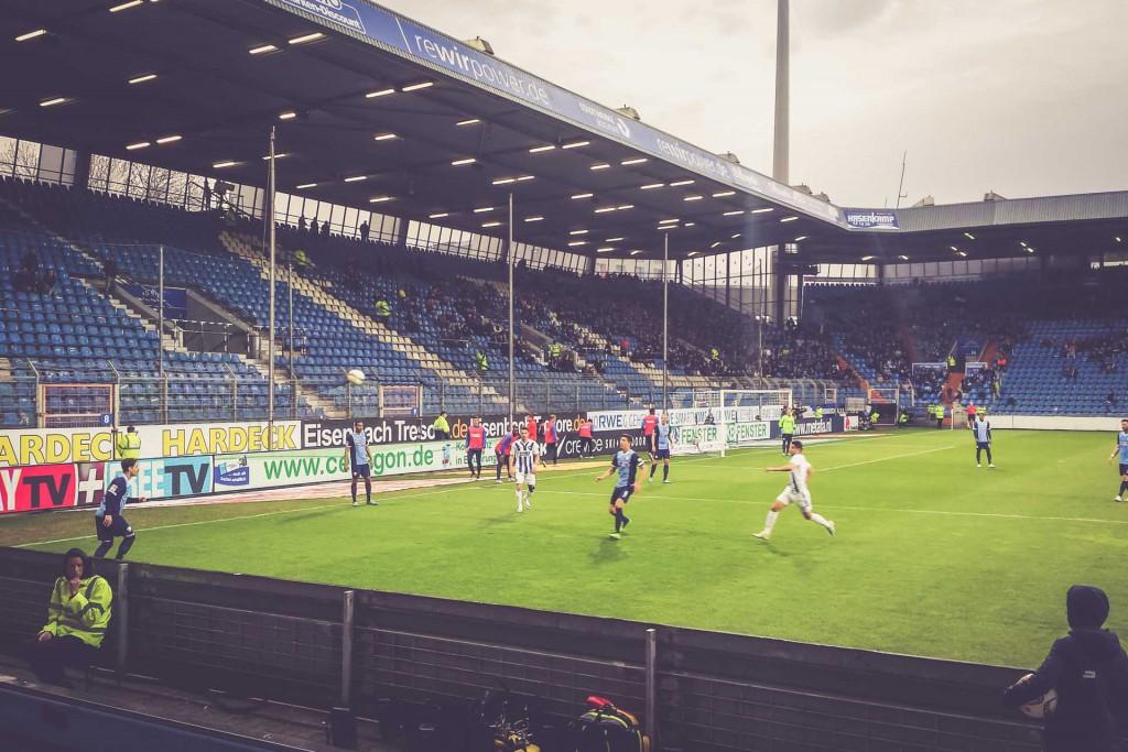 Rewirpowerstadion, VFL Bochum - Karlsruher SC