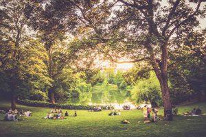 Kopenhagen - Park