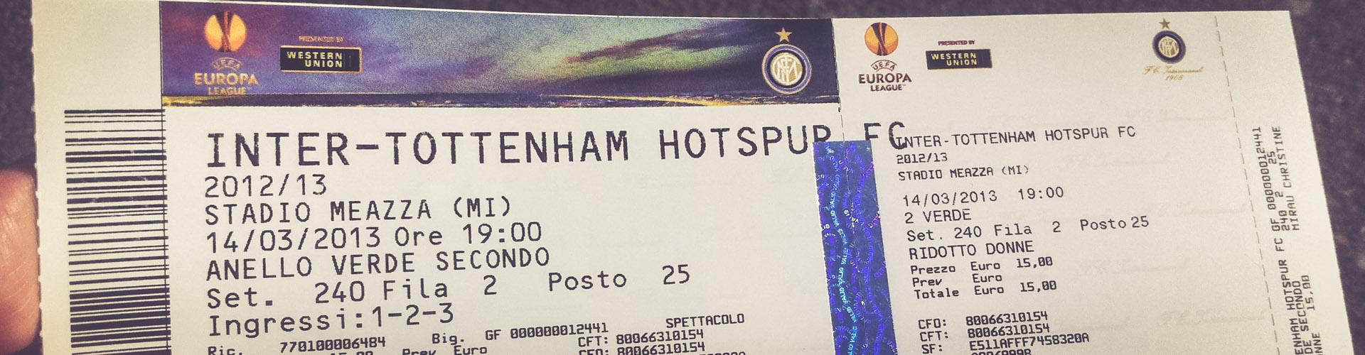 Stadio Giuseppe Meazza, Inter Mailand - Tottenham Hotspur