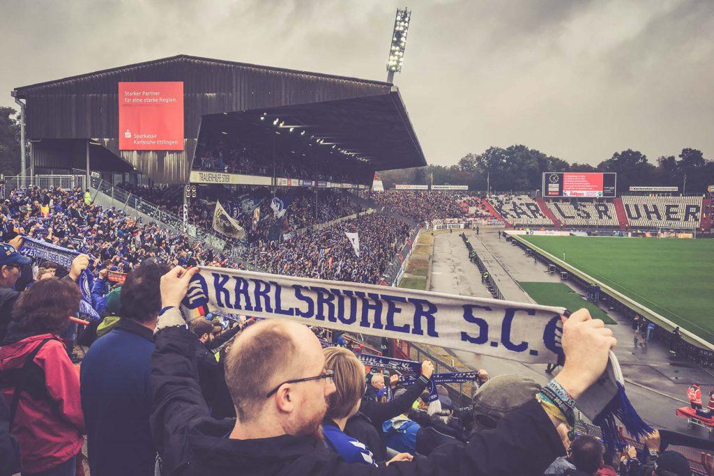 Wildparkstadion Fankurve, Karlsruhe