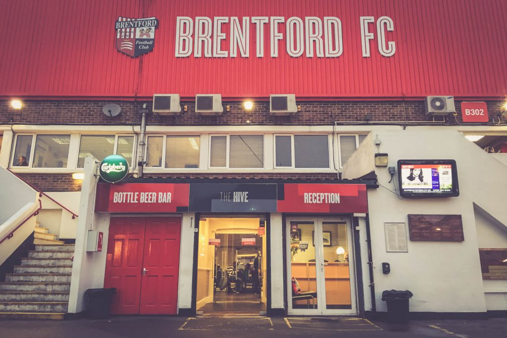 Griffin Park, Brentford - The Hive Pub