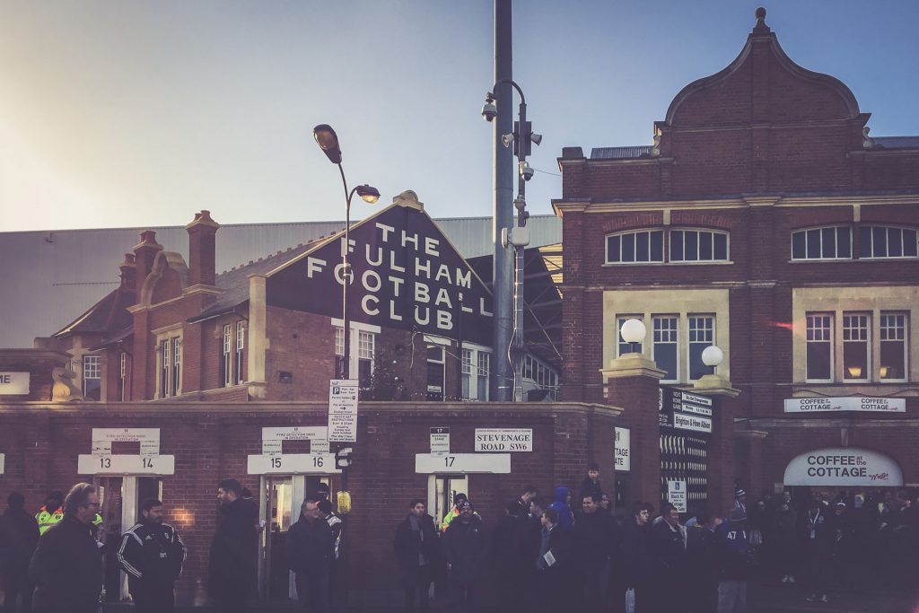 Craven Cottage, Fulham - Eingang