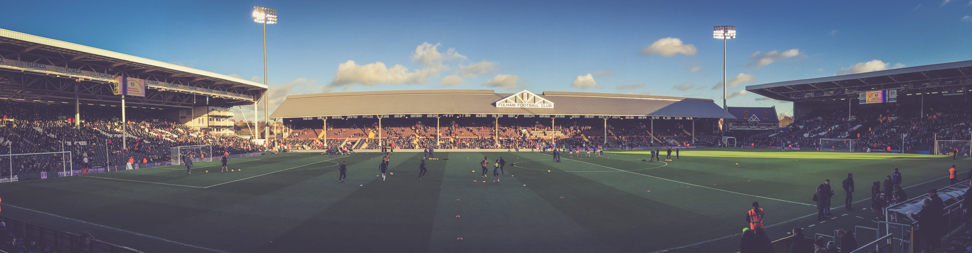 Craven Cottage Panorama - Fulham FC London