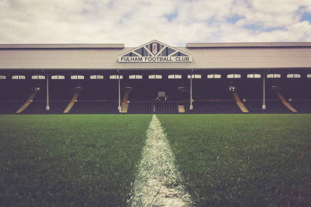 Craven Cottage, Fulham FC - Spielfeld