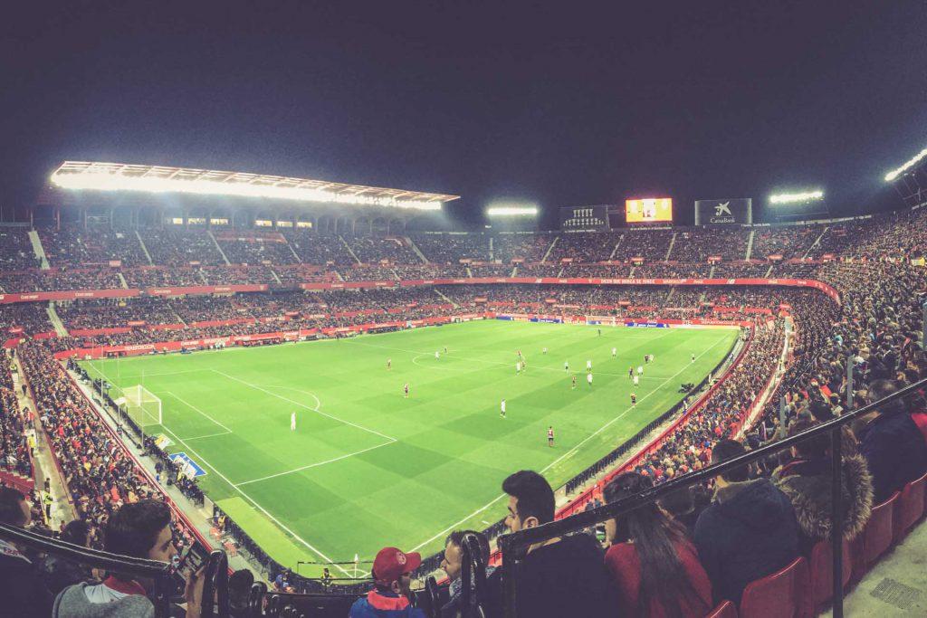 Estadio Ramón Sánchez-Pizjuán, FC Sevilla - SD Eibar