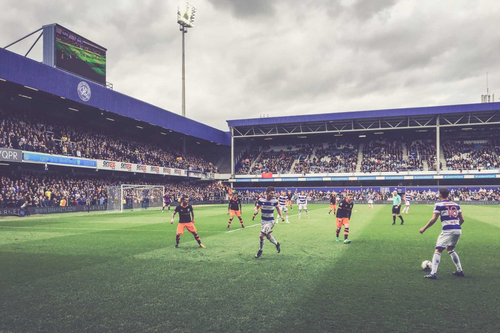 Loftus Road Stadium, QPR - Sheffield Wednesday
