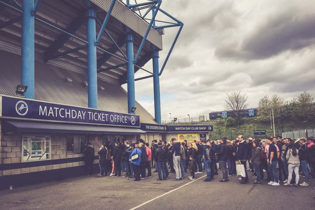 The Den, Millwall FC Ticket Office