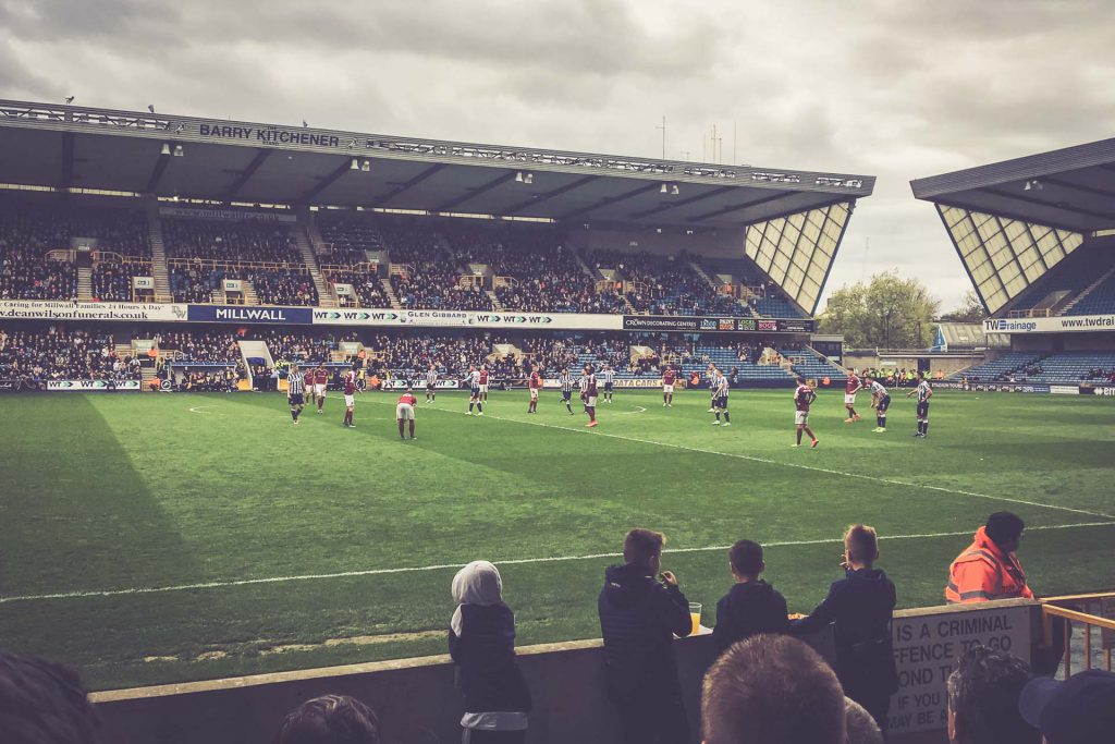 The Den, Millwall FC - Northampton Town
