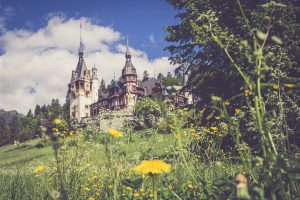 Schloss Peles in Siebenbürgen, Rumänien