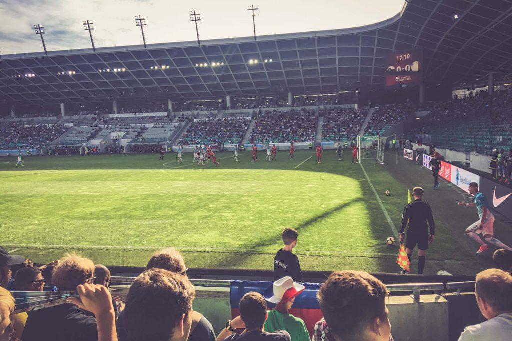 Stožice Stadium, Ljubljana: Slowenien - Malta