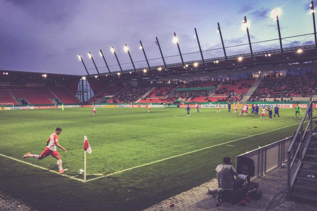 Continental Arena, Jahn Regensburg - Darmstadt 98