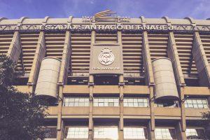 Estadio Santiago Bernabéu, Madrid - Haupteingang