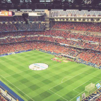 Estadio Santiago Bernabéu, Madrid - Spanien - Italien