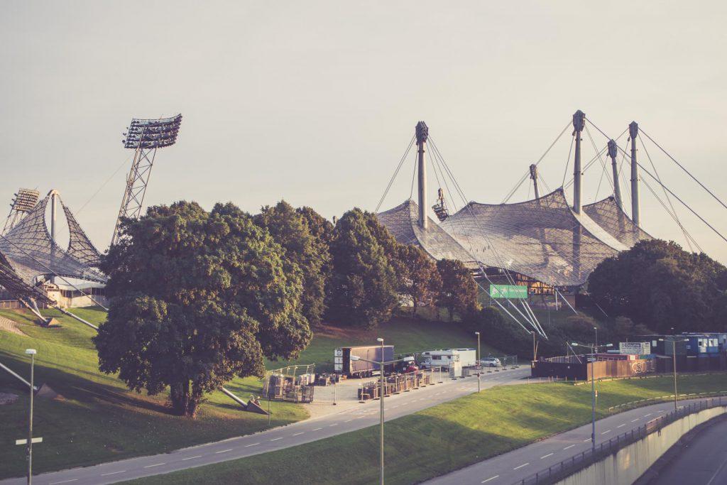 Olympiastadion München - Aussen