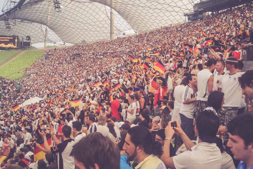 Olympiastadion München - Public Viewing
