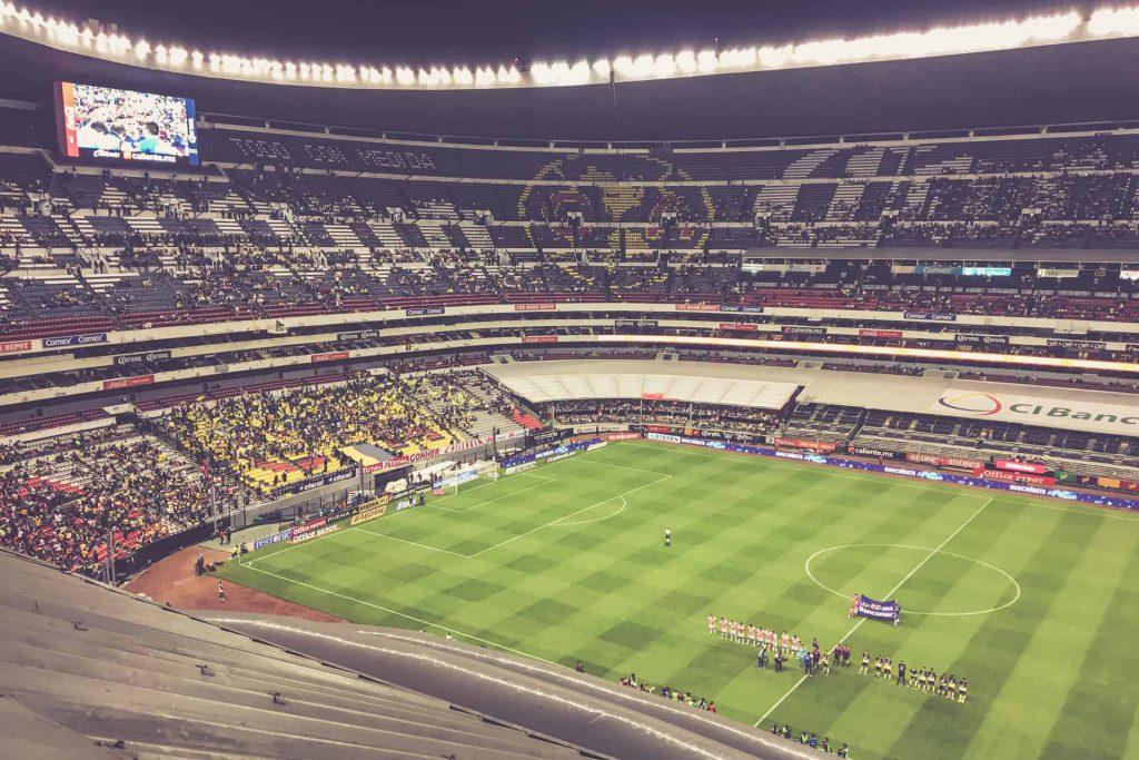 Aztekenstadion, Mexico-City - Club América - Necaxa