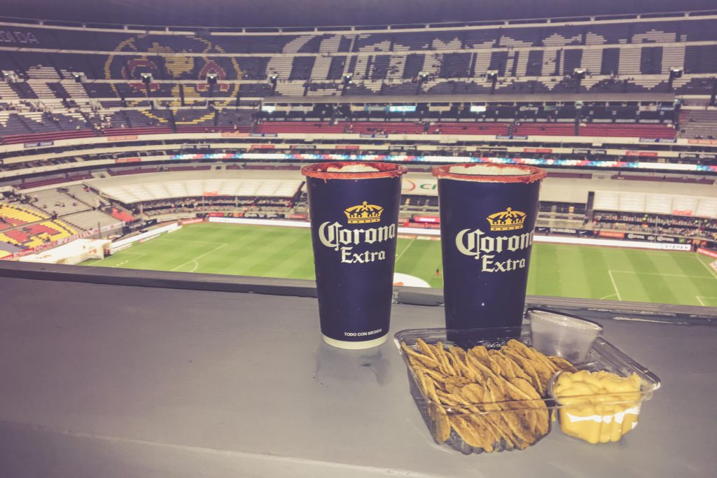 Aztekenstadion, Mexico-City - Club Lounge