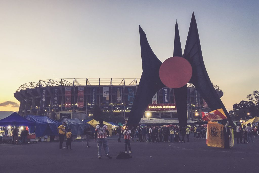 Aztekenstadion, Mexico-City