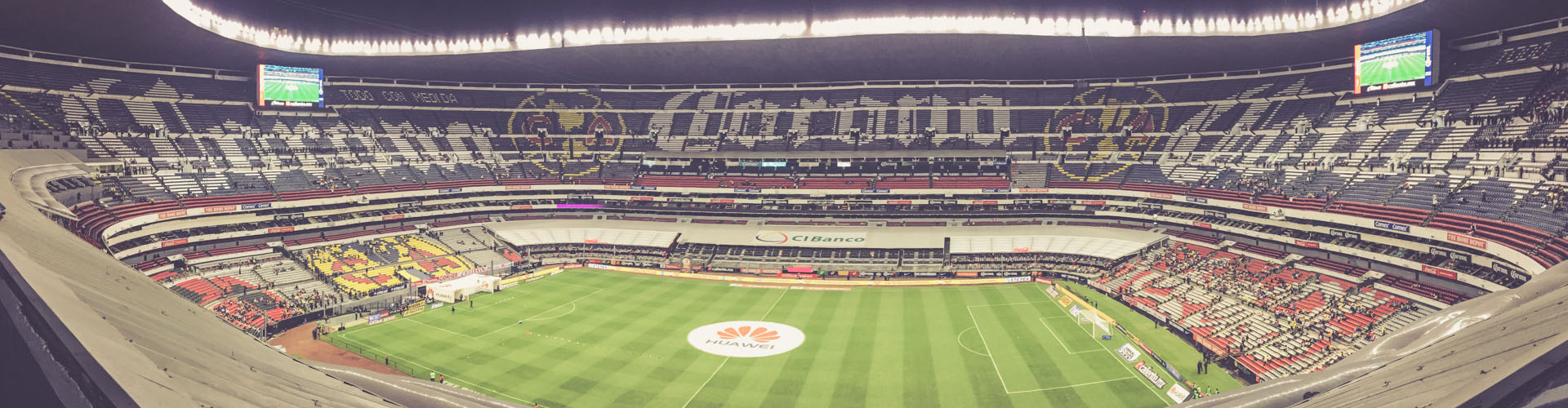 Aztekenstadion, Mexico City - Panorama