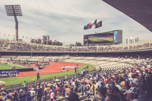 Estadio Olimpico Universitario, Mexico City - Anzeigetafel