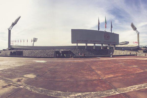 Estadio Olimpico Universitario, Mexico City