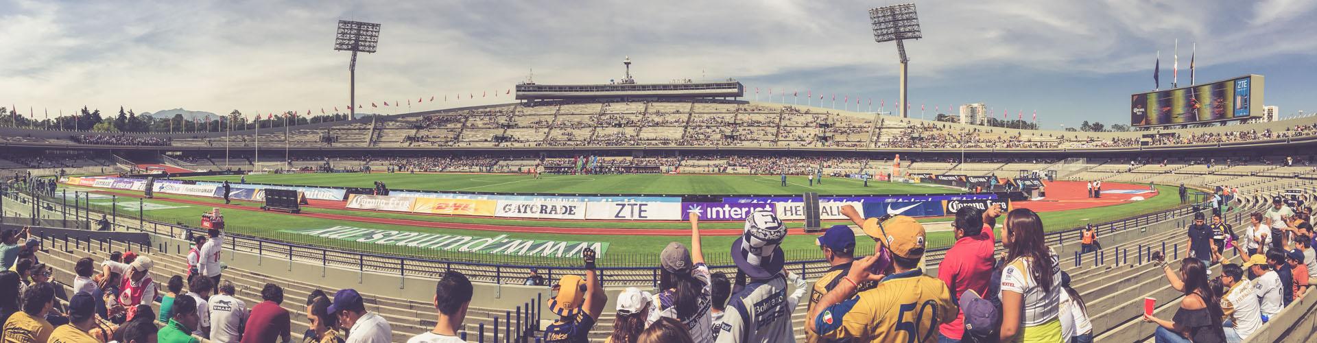 Estadio Olímpico Universitario, Mexico City - Panorama