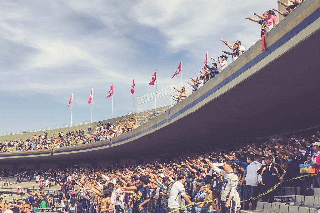 Estadio Olimpico Universitario, Mexico City - Pumas UNAM Hymne