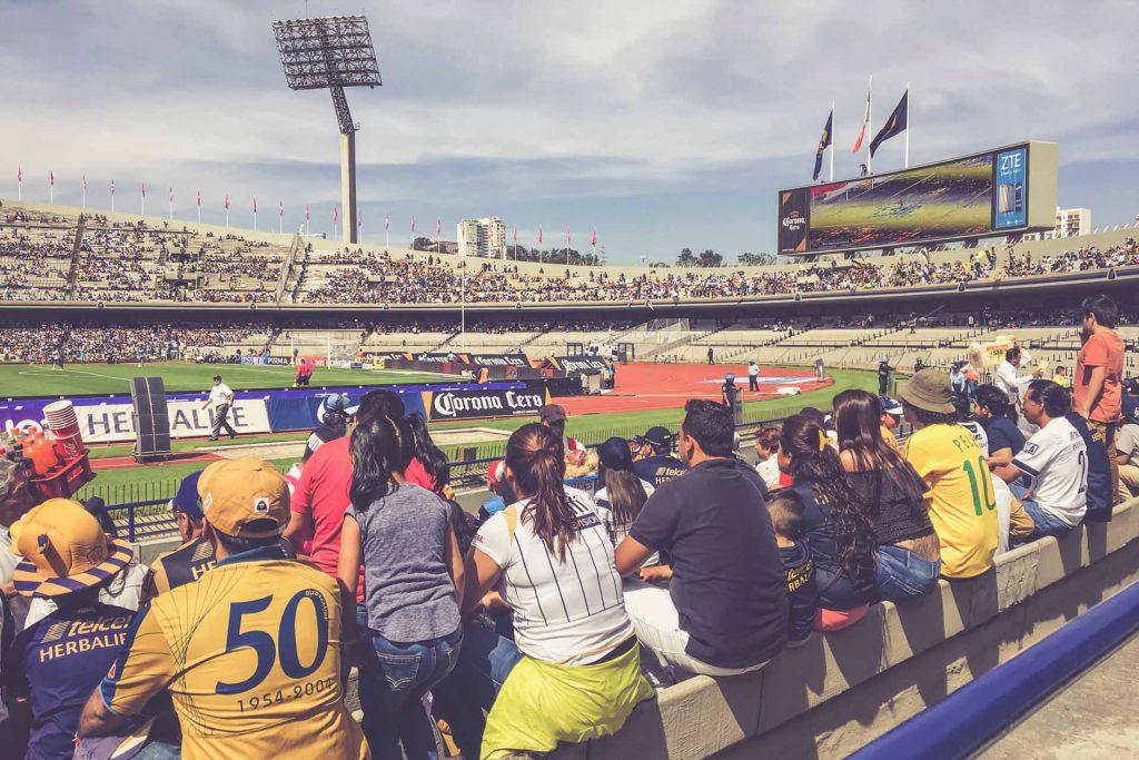 Estadio Olimpico Universitario, Mexico City - Puma UNAM - Monterrey