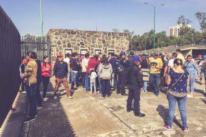 Estadio Olimpico Universitario, Mexico City - Ticketschalter