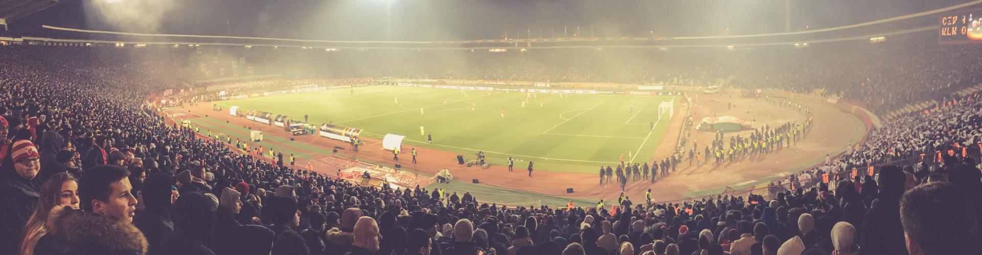 Stadion Rajko Mitić, Roter Stern Belgrad
