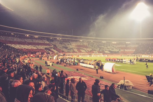Stadion Rajko Mitic, Roter Stern Belgrad Choreo