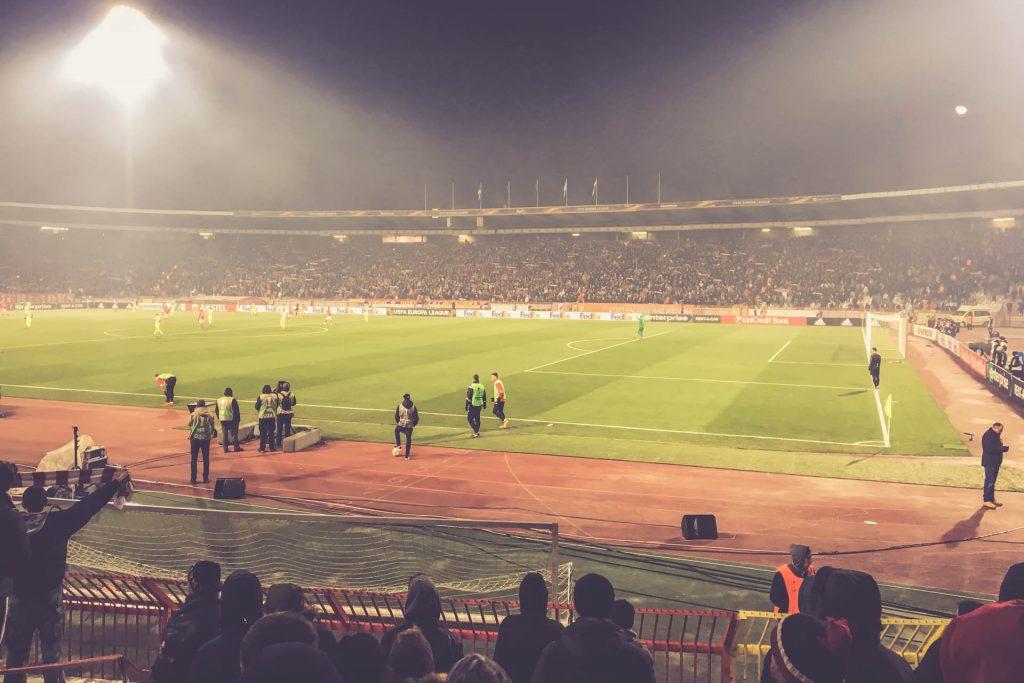 Stadion Rajko Mitic, Belgrad - Gegengerade