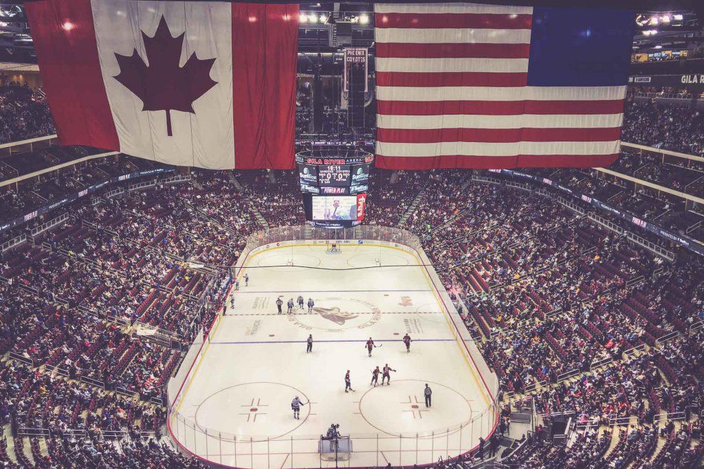 Gila River Arena, Arizona Coyotes - Vancouver Canucks
