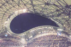 Stade Vélodrome, Marseille - Dachkonstruktion