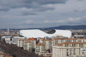 Stade Vélodrome, Marseille - weiße Welle