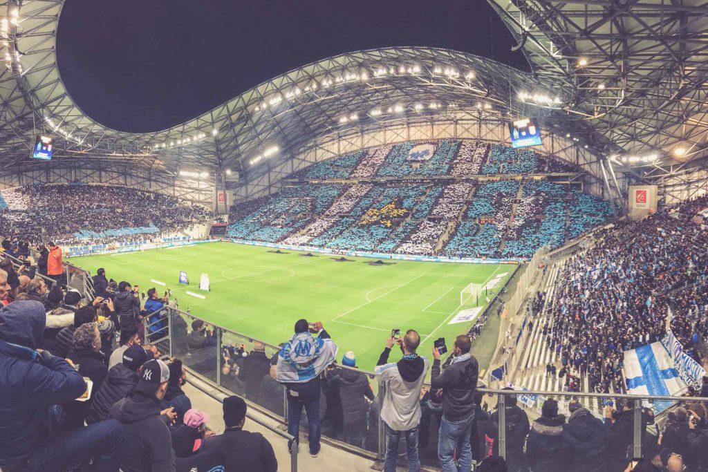 Stade Vélodrome Choreo - Olympique Marseille - Olympique Lyon
