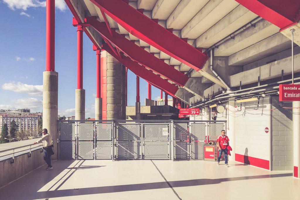 Estádio da Luz, Benfica Lissabon - Architektur