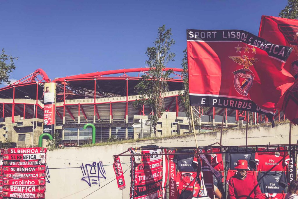 Estádio da Luz, Benfica Lissabon - Fanartikel