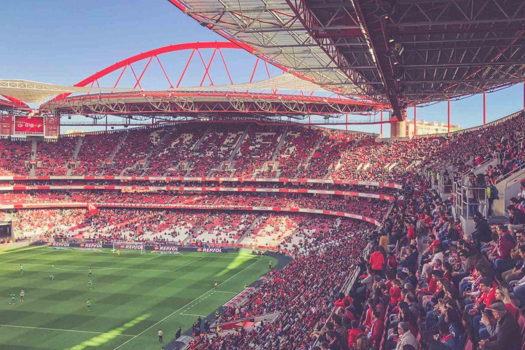 Estádio da Luz, Benfica Lissabon - Fankurve