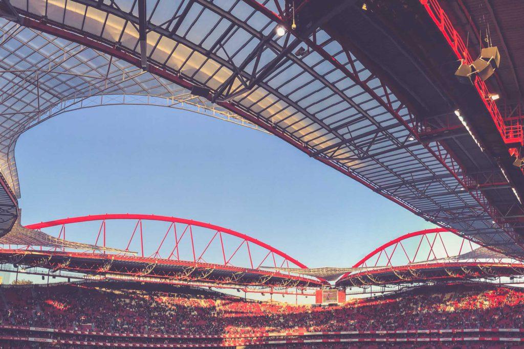 Estádio da Luz, Benfica Lissabon - Dachkonstruktion