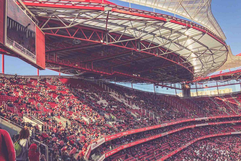 Estádio da Luz, Benfica Lissabon - Tribüne