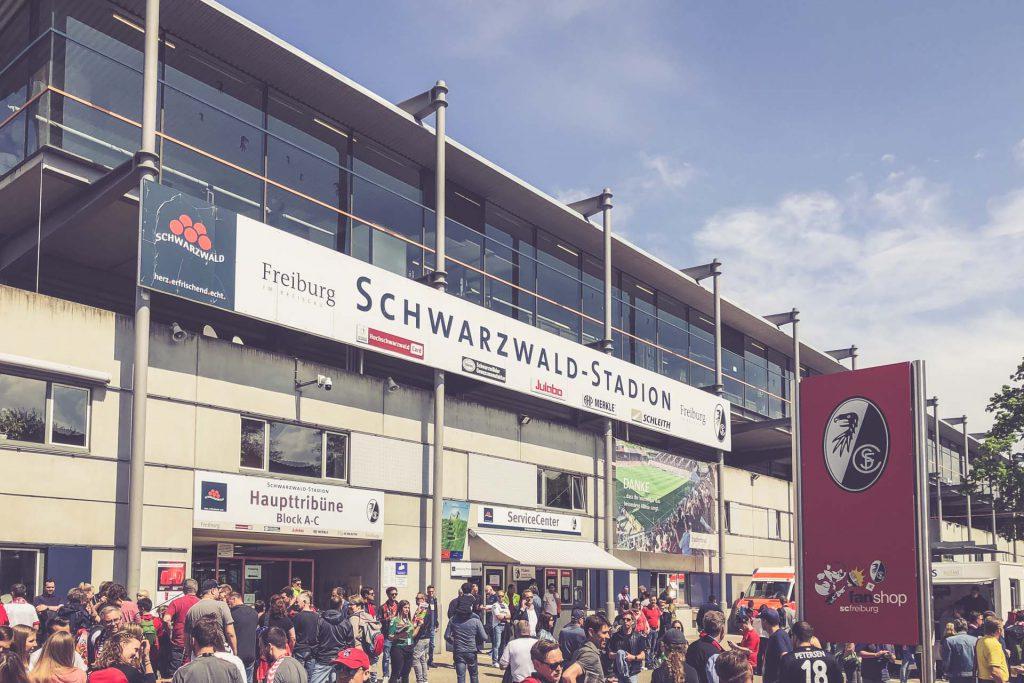 Schwarzwald-Stadion, Freiburg - Eingang