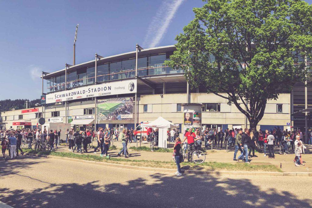 Schwarzwald-Stadion, Freiburg - Aussen