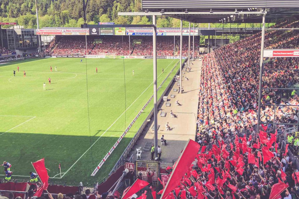 Schwarzwald-Stadion, Freiburg - Tribüne