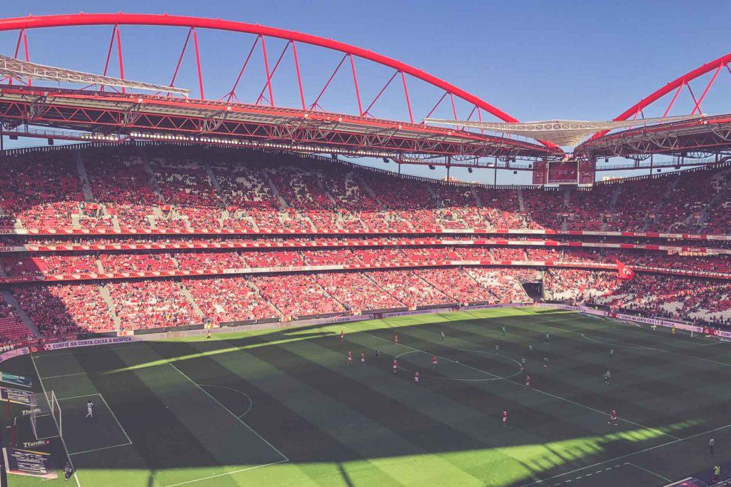 Estádio da Luz, Benfica Lissabon - Moreirense